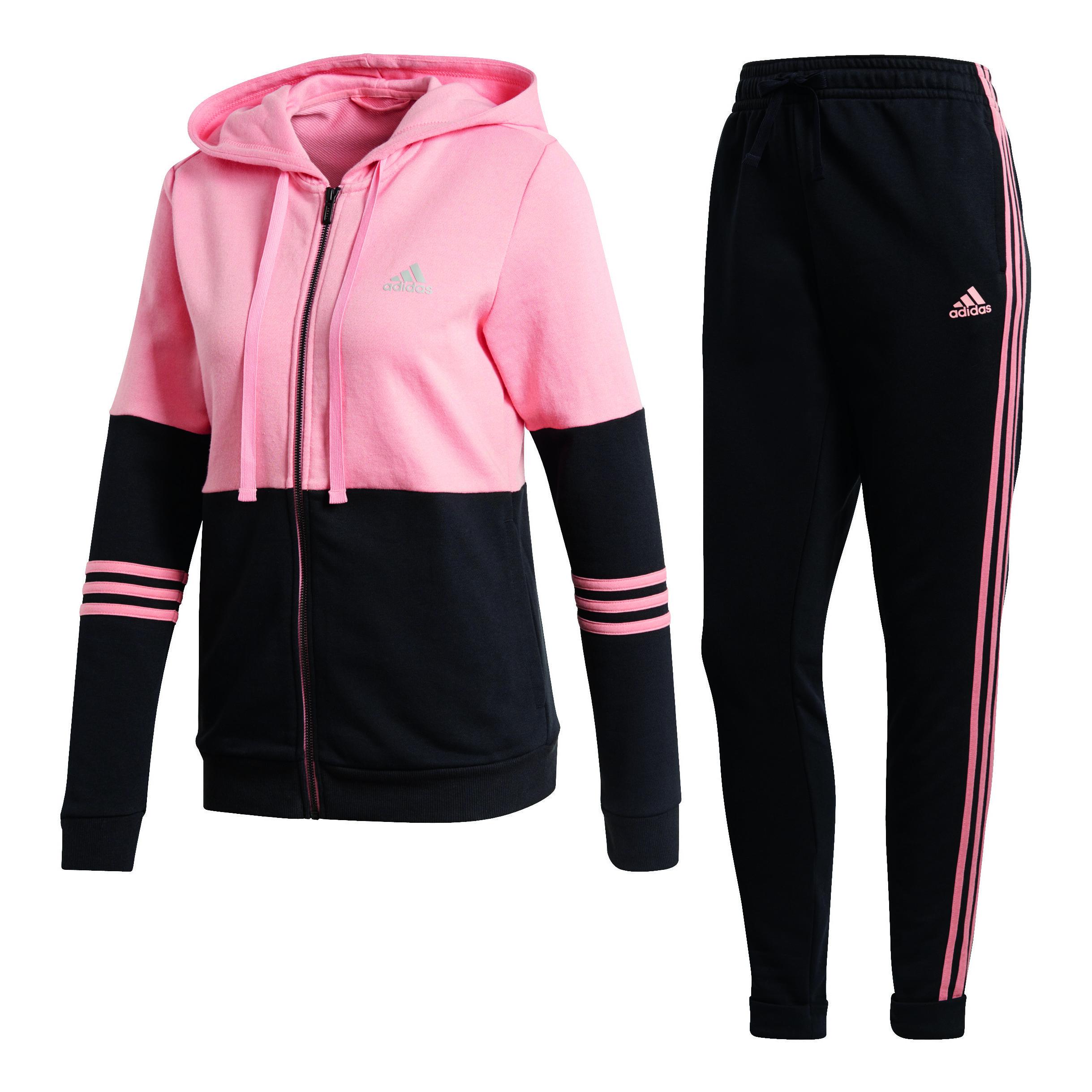 adidas Co Energize Trainingsanzug Damen - Rosa, Schwarz online ...