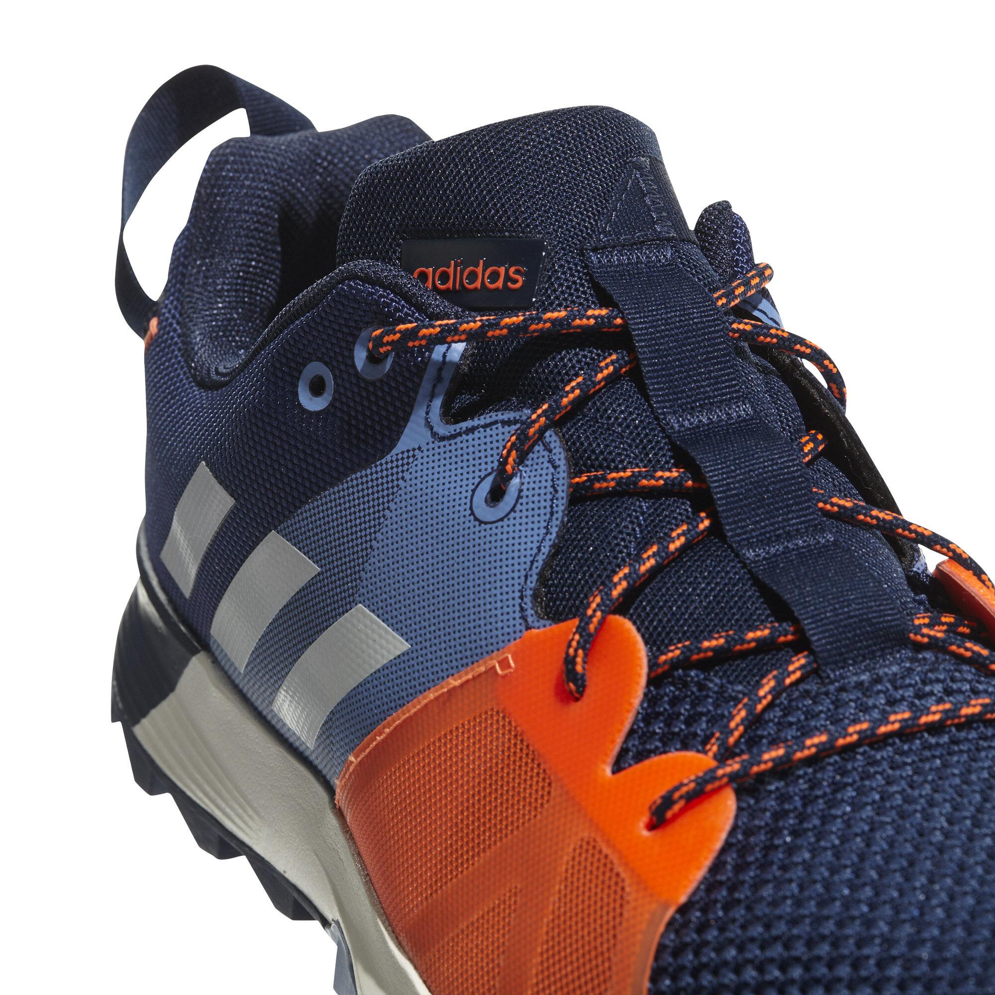 adidas Kanadia 8.1 TR Trailschuh Herren Schwarz, Grau