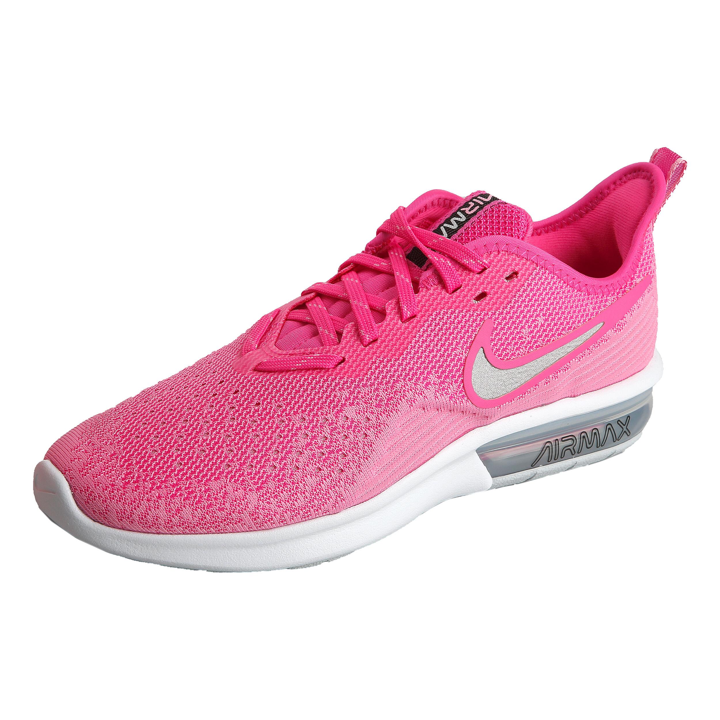 Nike Air Max Sequent 4 Neutralschuh Damen Pink, Weiß
