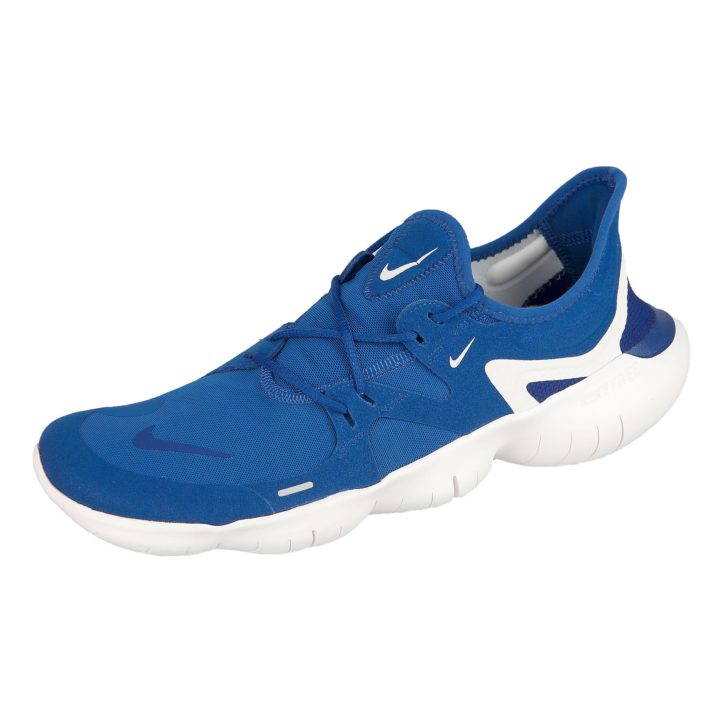 Free Running 0 Herren Natural Nike Schuh BlauWeiß 5 Nnw0mv8O