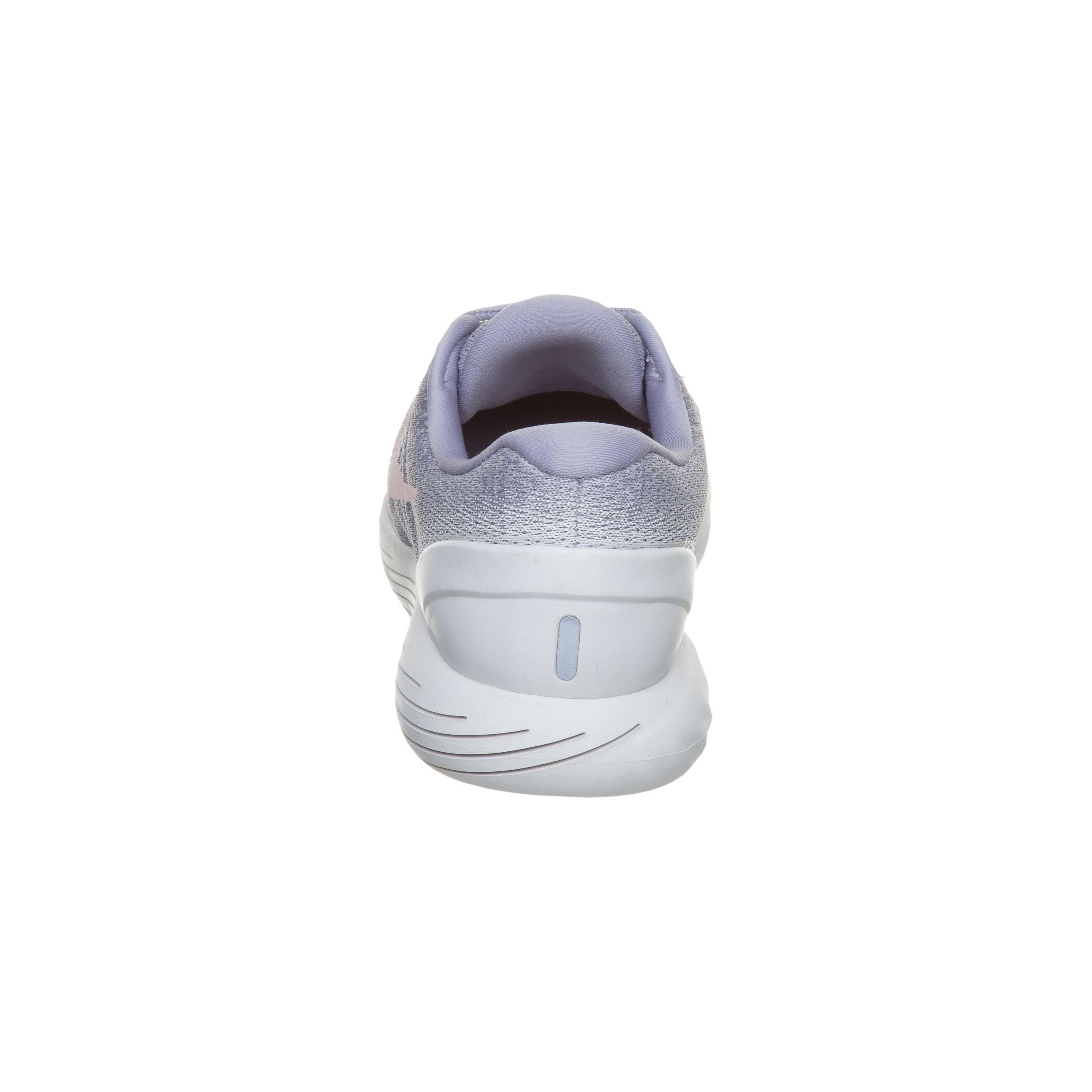 Nike LunarGlide 9 Stabilitätsschuh Damen Flieder, Weiß