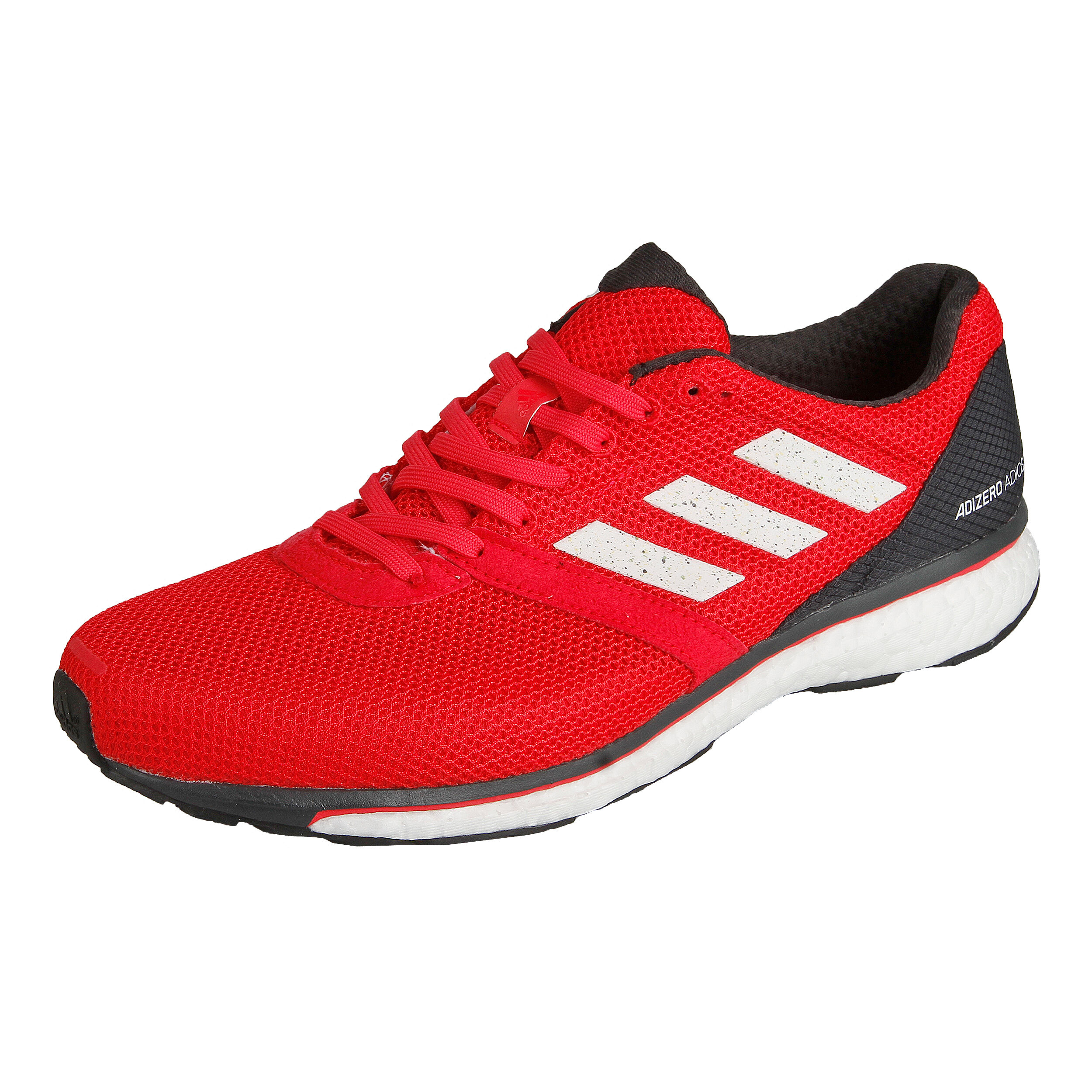 Adidas Adizero Adios Boost 3 Laufschuhe Herren rotschwarz